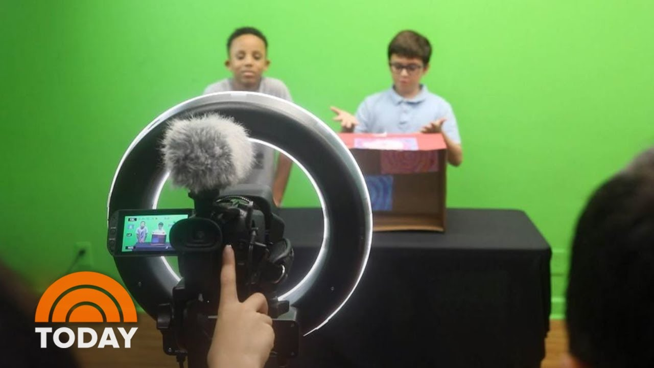 Another YouTube Camp Is Helping Kids Become Internet Stars