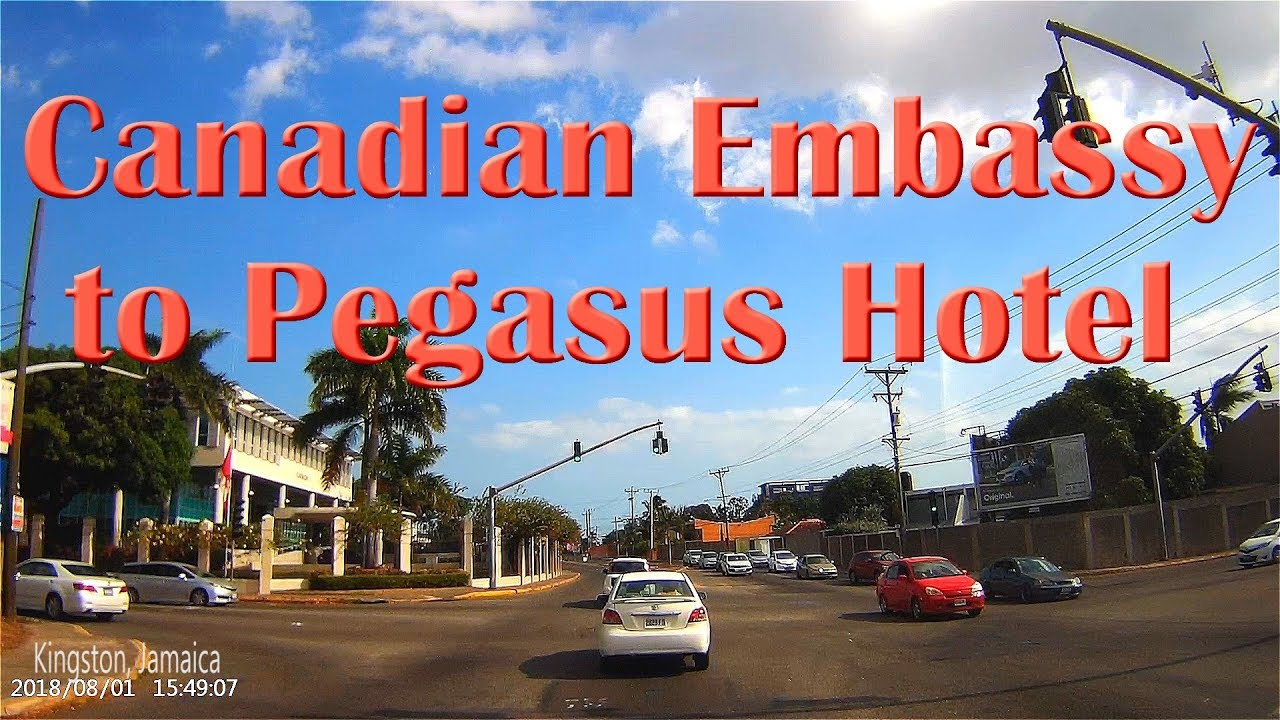 Canadian Embassy to Pegasus Hotel Kingston Jamaica