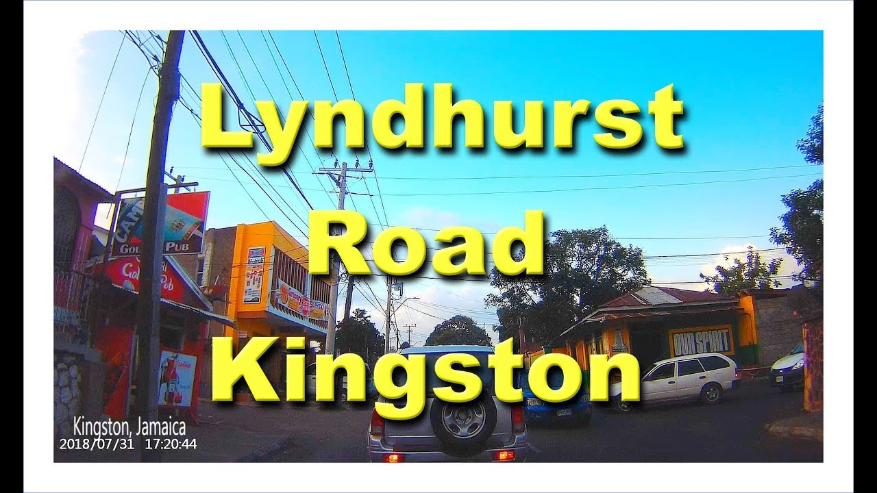 Lyndhurst Road  Kingston Jamaica