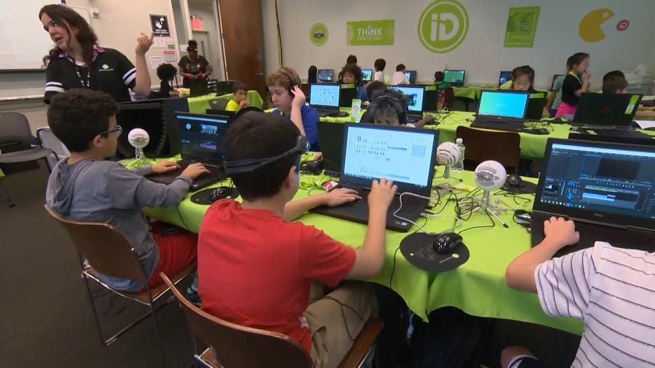 How YouTube Camp Is Helping Kids Become Internet Stars